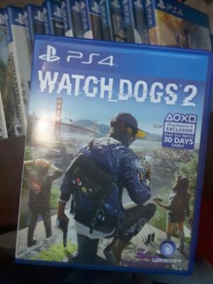Watch Dogs 2 PS4 Blue Ray Disc Original