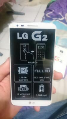 LG G2 2/32GB white mint condition