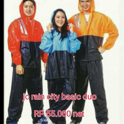 jas hujan basic duo