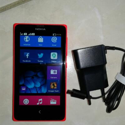 Nokia x 2nd android merah