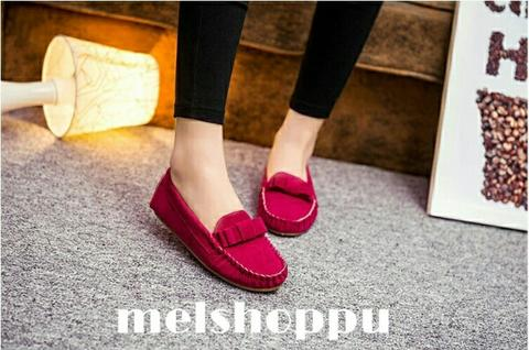 Ribbon Flat Shoes