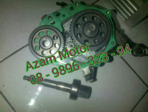 Rasio Gearbox As Roda Primary Secondary [ Beat Scoopy Vario Spacy ]