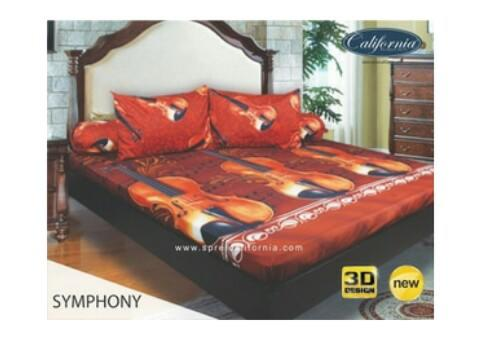 Sprei California Symphony uk. 180 x 200 King Size no.1 murah