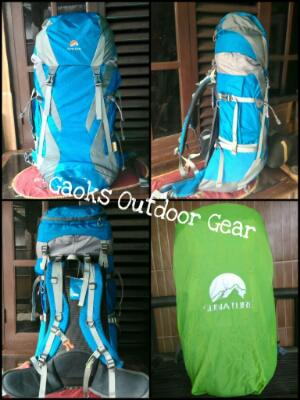 Tas Carrier Sunature Futura 50+5L Include Raincover