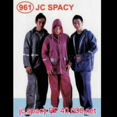 jas hujan spacy