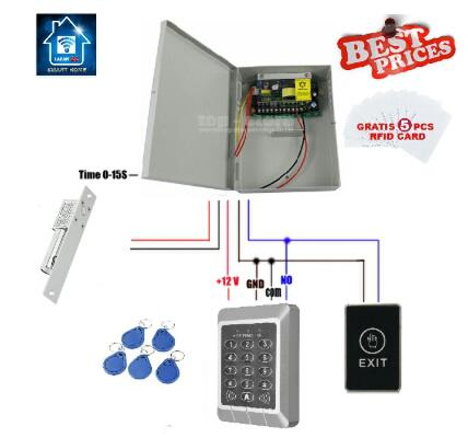 DOOR LOCK ACCESS CONTROL KIT SET KEYPAD - (02 SOFT TOUCH)