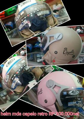 helm MDS capelo retro