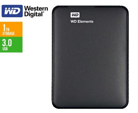 WD Element 1TB Hardisk External BNIB
