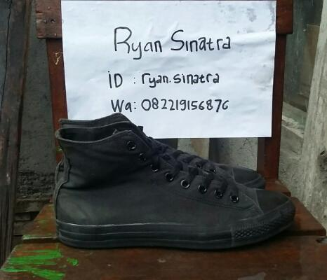 Converse CT As Canvas HI Mono Black