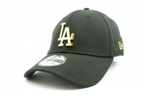 Newera cap LA dodgers 39THIRTY metallic gold 'limited edition'