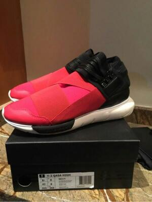 Adidas Y-3 Qasa Black Red