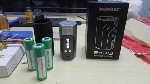 Wismec DNA 200 + Battery Samsung 2500 mAh + Soft case