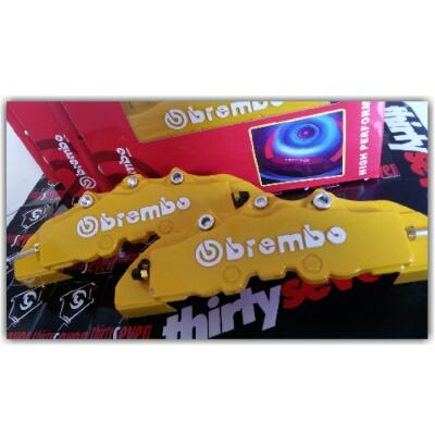 Yellow Cover Brembo Pot 4 (M)