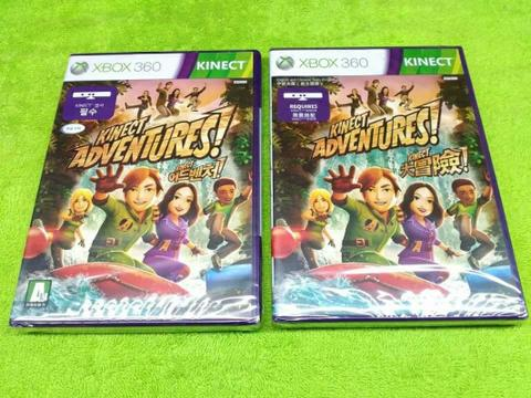 Kaset Xbox 360 / X-Box 360 Original Kinect Adventures