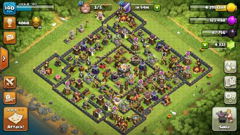 Game COC TH 11
