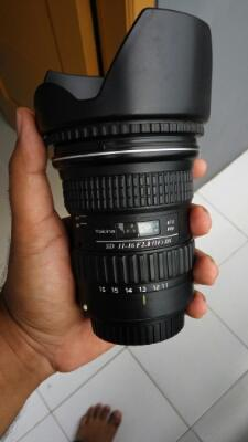 TOKINA 11-16 IF DX FOR CANON MUREEHHH