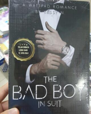 Buku Novel The Bad Boy In Suit wattpad laris bestseller murah