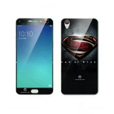 Oppo F1 Plus Superman Tempered Glass With 3D Case
