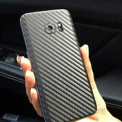Carbon Garskin Black For Samsung Galaxy S7 Edge