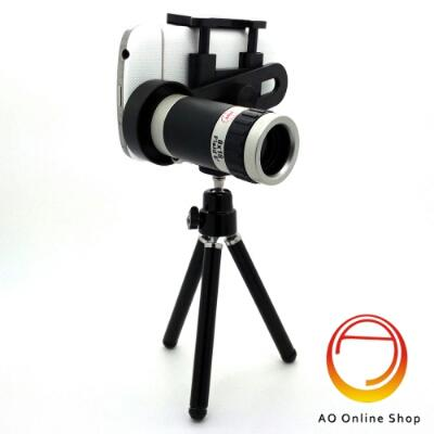 Telescope Tripod Camera Lensa HP 8x Zoom