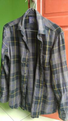 flannel uniqlo original 99% bu