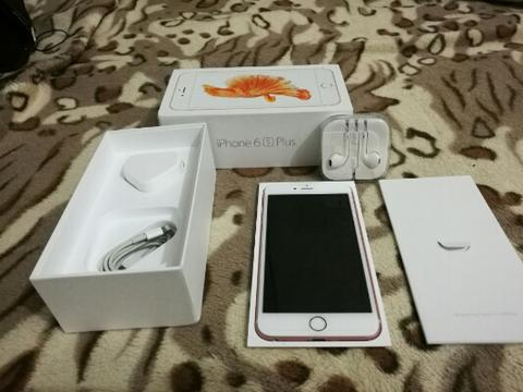 Iphone 6S Plus 128 GB Rose Gold Mulus Lengkap 6