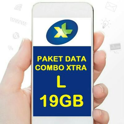 Perdana Internet / Paket Data XL 19GB