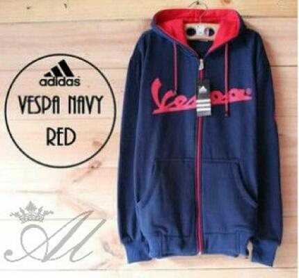 Vespa navy red
