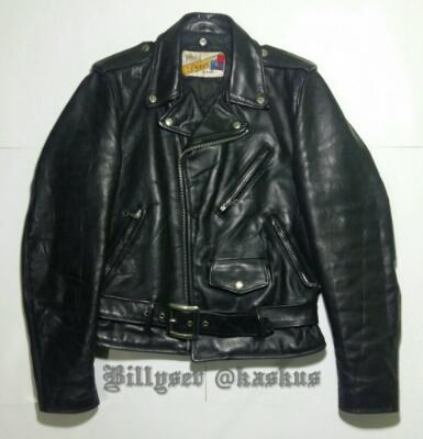 Schott 618 Perfecto leather jacket, jaket kulit schott ramones