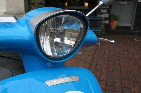 Peugeout Scooters Django Sport Blue France