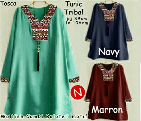 Blouse Tribal Tunic