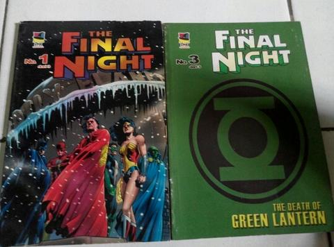Jual Komik The Final Night (bekas)