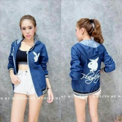 Jaket Denim Playboy