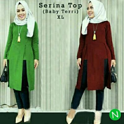 Blouse Tunik Serina Top XL