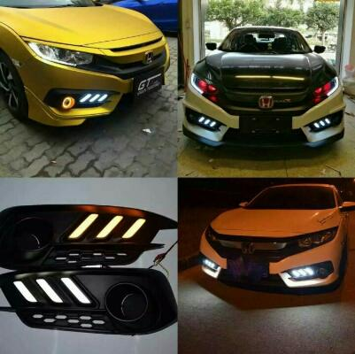 DRL CIVIC TURBO 2016 Mustang Style