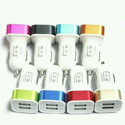 charger mobil 2usb