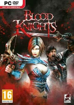 pc game - blood knight - dvd