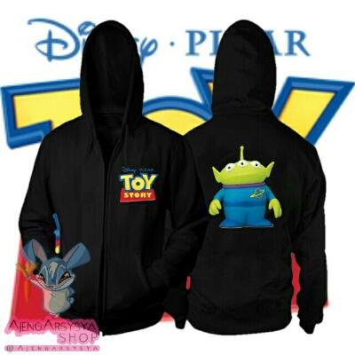 Jaket Toy Story Green Man