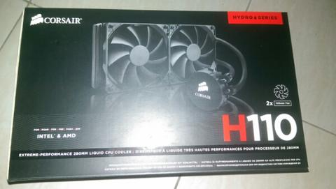 water cooling corsair hydro h110