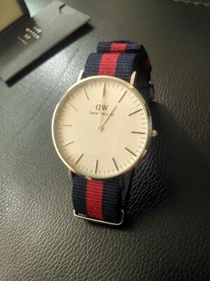 daniel wellington oxford silver men original