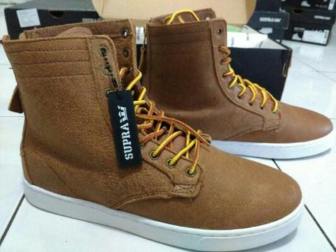 SNEAKERS SUPRA WOLF BROWN (Brand New In Box)