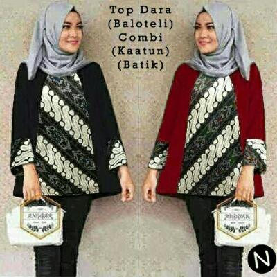 Blouse Tunik Top Dara