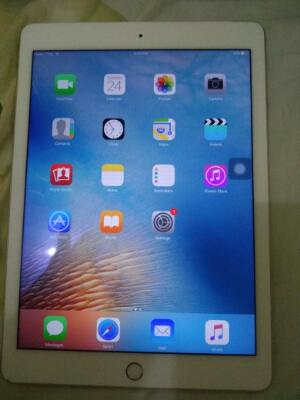 Apple iPad Air 2 Gold 128gb WiFi + Celullar Fullsett Termurah Sekaskus Surabaya