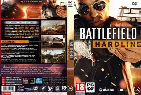 pc game - battlefield hardline - dvd