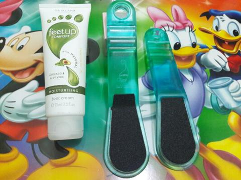 Foot Cream + Foot File