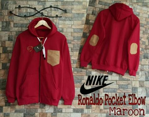 Ronaldo Pocket maroon