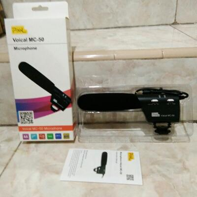 Microphone DSLR PIXCEL MC-50(New)