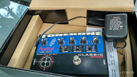 radial classic distortion