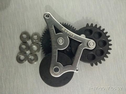 Gear modular modify+bearing