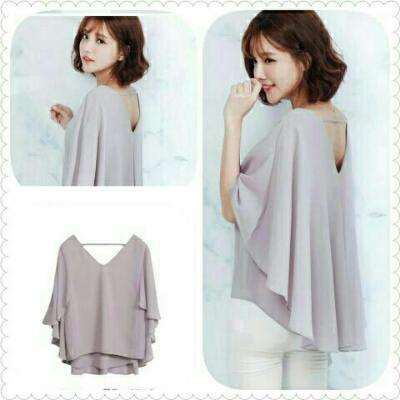 BLOUSE VERNITA GREY